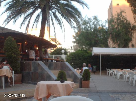 Sol Jamaica: terraza-bar