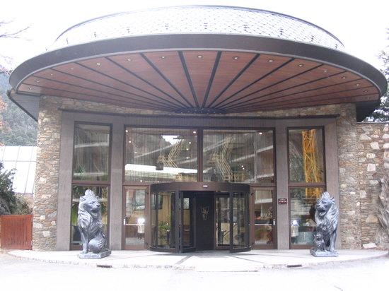 Hotel Roc de Caldes: Entrance