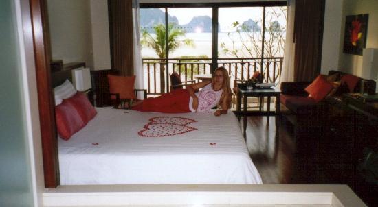 Anantara Si Kao Resort: chambre et vue