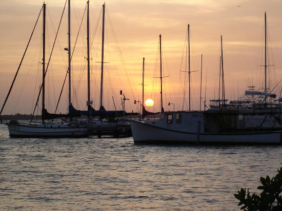 Vistalmar Apartments: End of another beautiful day in Aruba