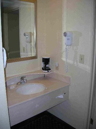 Courtyard by Marriott Tuscaloosa: Vanity area