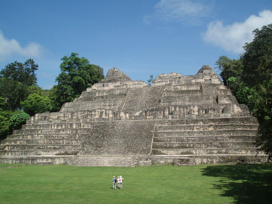 Placencia, Belize: Tallest Mayan Ruins in Belize (Caracol)