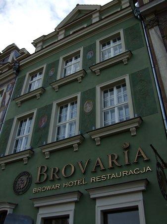 Hotel Brovaria (suite located on top floor)