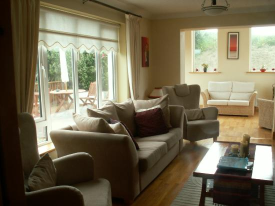 Pairc Lodge B & B: Sitting Room