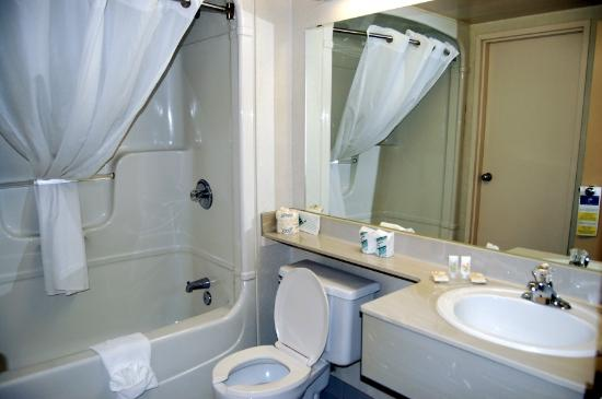 Quality Suites Laval: Bathroom