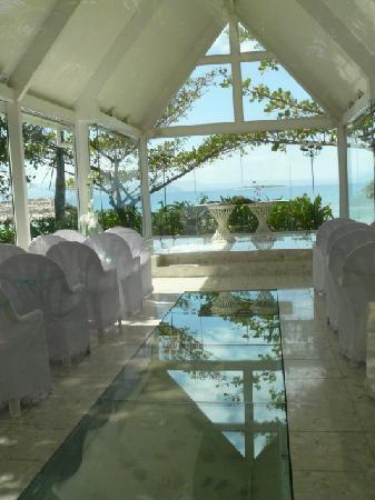 Treasure Island Resort Fiji Wedding Chapel View