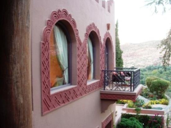 Kasbah Tamadot : Our balcony