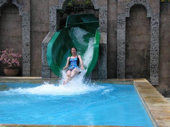 Jimbaran Hills Resort & Spa: Slip sliding away