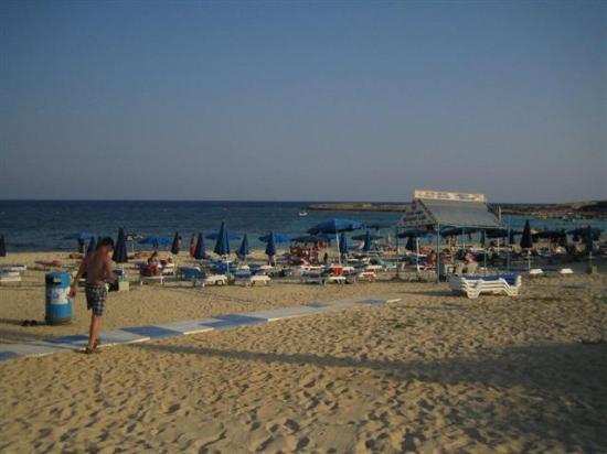 Asterias Beach Hotel: la plage