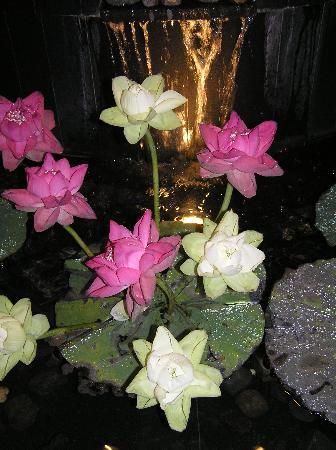 Narai Hotel: Lotus flowers