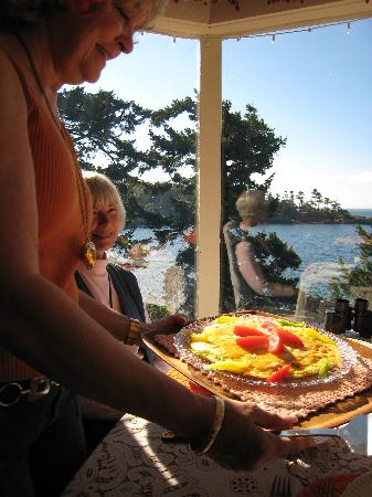 Rosemary Inn: Another wonderful breakfast!