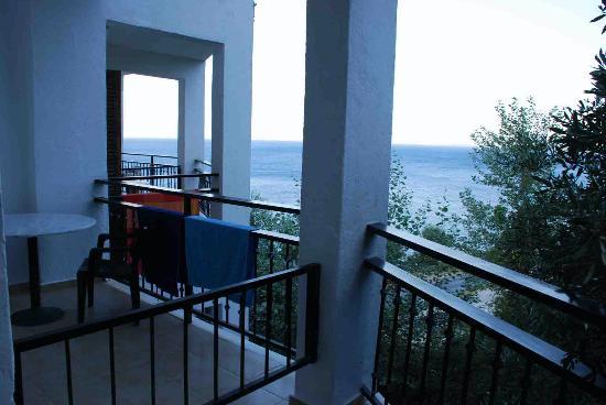 Belvedere Hotel: vue sur mer