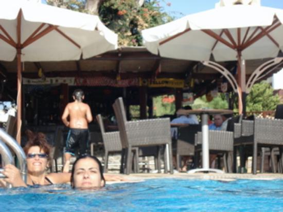 Crithonis Paradise Hotel : Pool bar