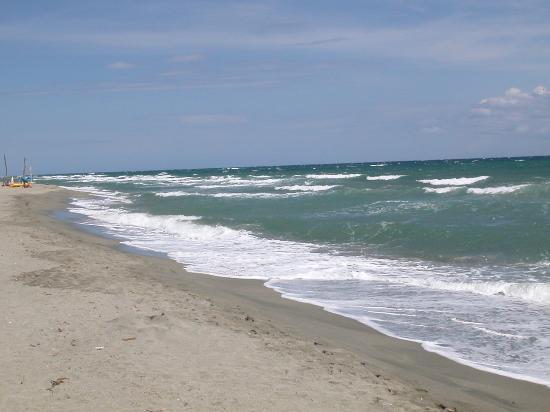 Riva Bella Naturiste Camping: Il mare è decente ma c'è di meglio in Corsica