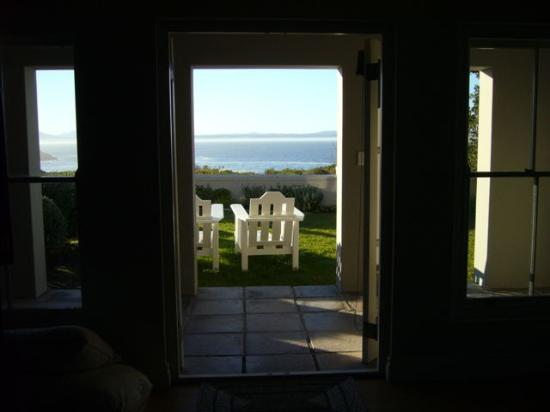Ocean Eleven Guesthouse: View from our living room