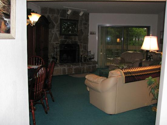 Laurel Inn Condominiums: living room