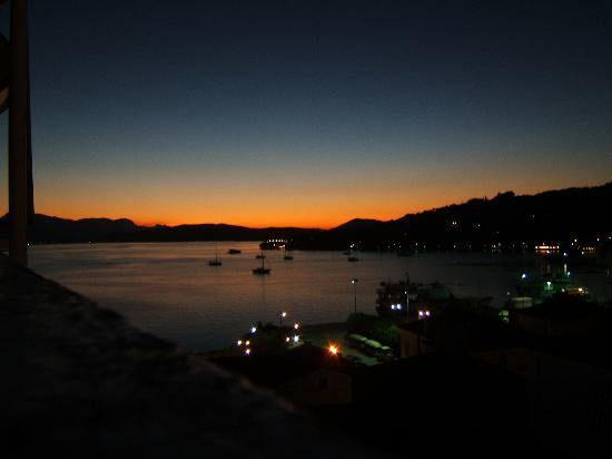 Dimitra Boutique Hotel : Sunset from the Roofgarden
