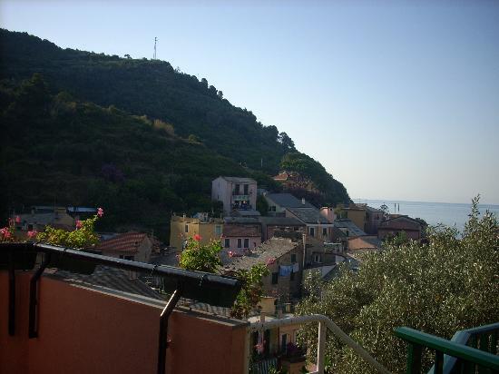Hotel Villa Steno: view from the balcony