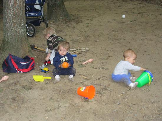 Pinederosa Camping Area: Our private Sandbox