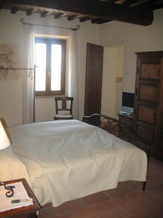 Petroio, Italia: Bedroom, DaVinci I think
