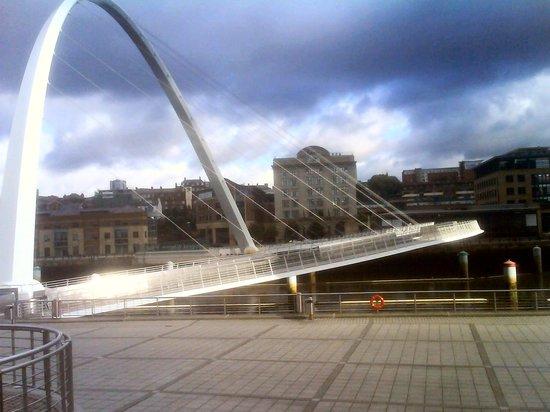 Malmaison Newcastle: Mal over the bridge from Gateshead