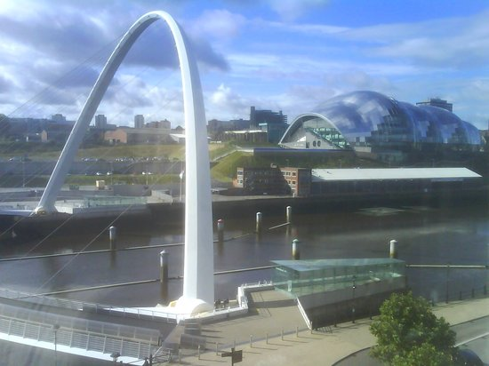 Malmaison Newcastle: Room with a view