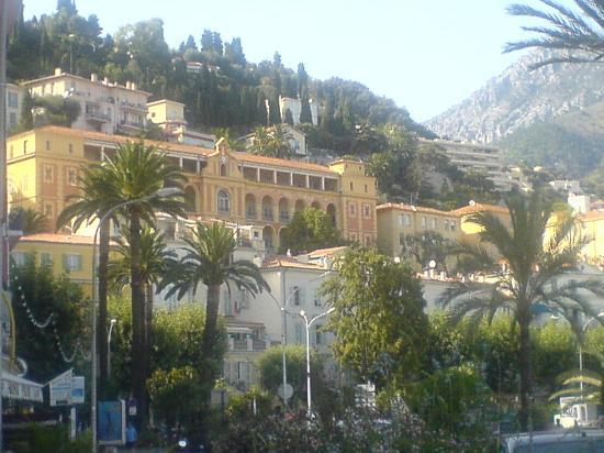 Vue de Menton - Villas Palmiers