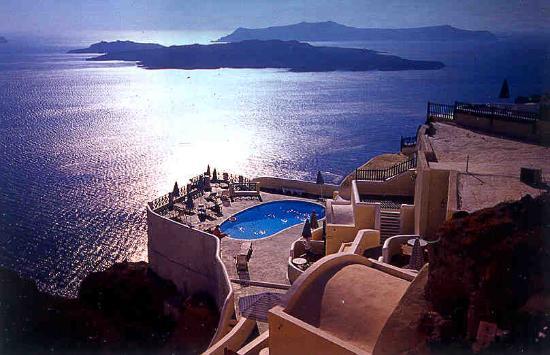 Lilium Villas Santorini: View from the Hotel