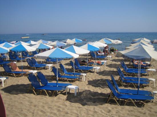 Malliotakis Beach Hotel : Another beach pic!