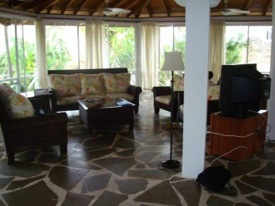 Cabarete Beach House at Nanny Estates: living room in villa chez