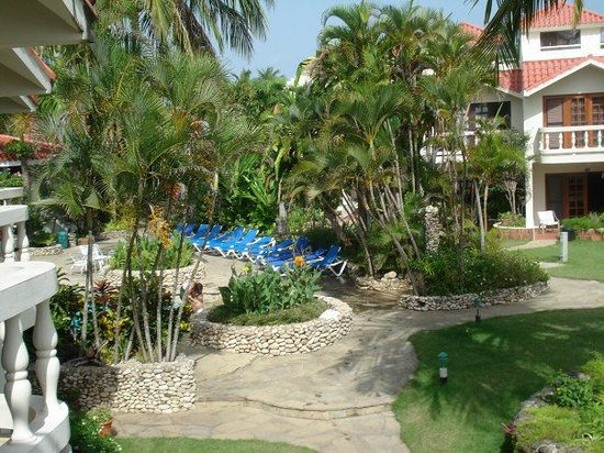 Cabarete Beach House at Nanny Estates: view from the door