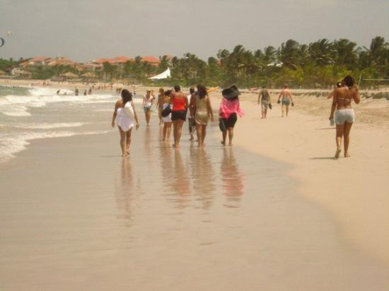 Cabarete Beach House at Nanny Estates: first day on the beach