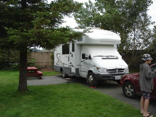 Mad River Rapids RV Park : Site 40