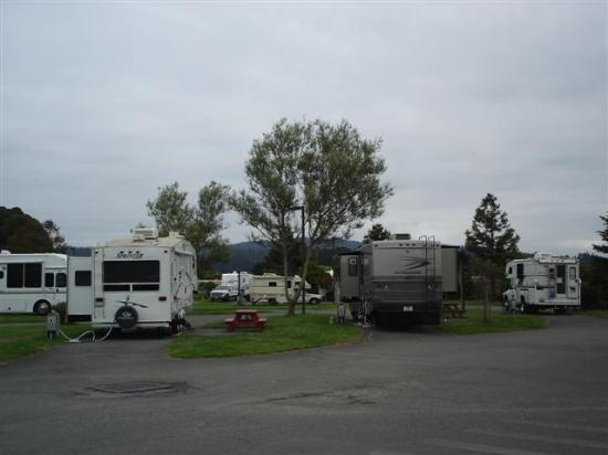 Mad River Rapids RV Park: General view of Mad Avenue