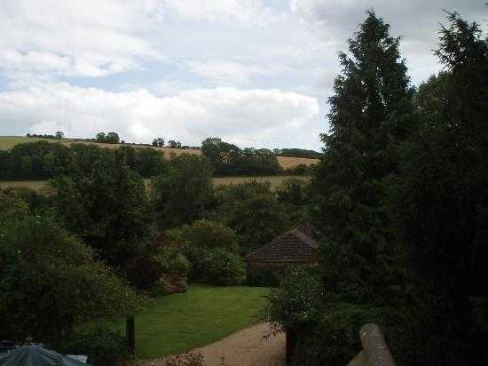 Burpham Country House: View from our bedroom window - 2