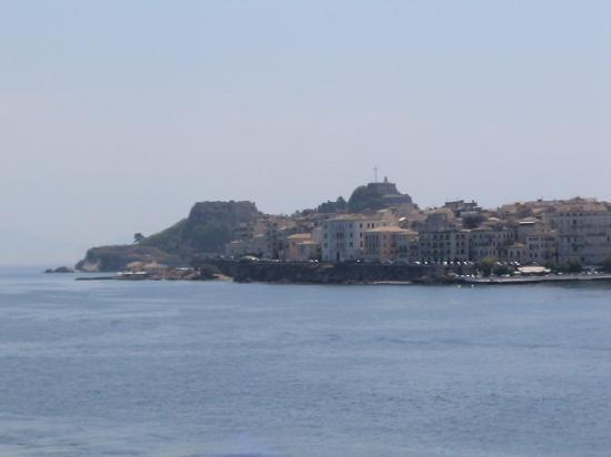 Corfu, Grækenland: Old fortress