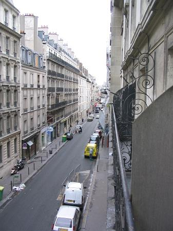 View From Balcony Toward Gare Du Nord Picture Of Vintage