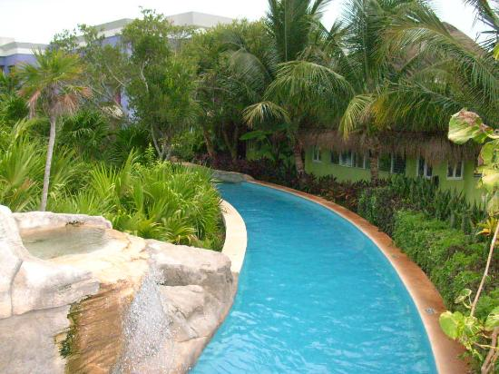 Iberostar Paraiso Beach Lazy River Pool