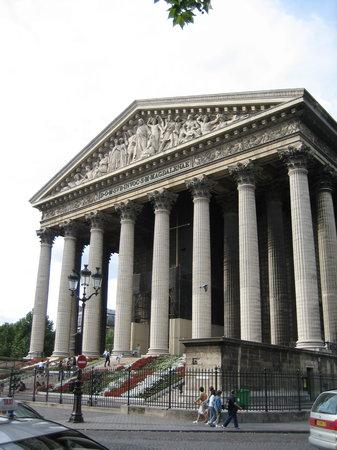 Eglise de la Madeleine : La Madeleine