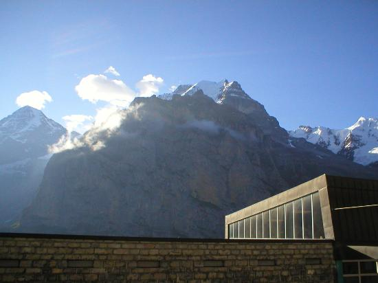Eiger Guesthouse: View from our patio