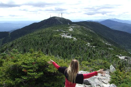 Stowe, VT: Fresh air at Mount Mansfield
