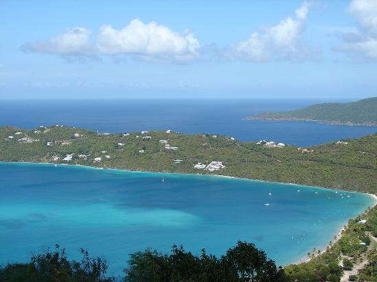 Magens Bay: Overview of Magen's Bay, St. Thomas