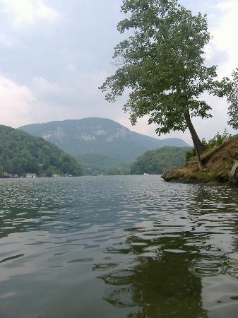 The 1927 Lake Lure Inn and Spa: The Lake