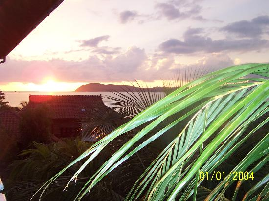 The Lanai Langkawi Beach Resort: Sunset from our balcony