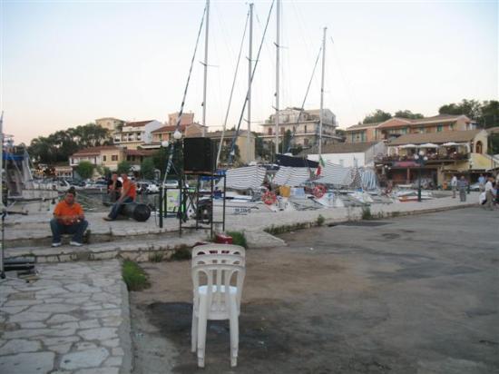 Corfu, Greece: Local festival in Kassiopi