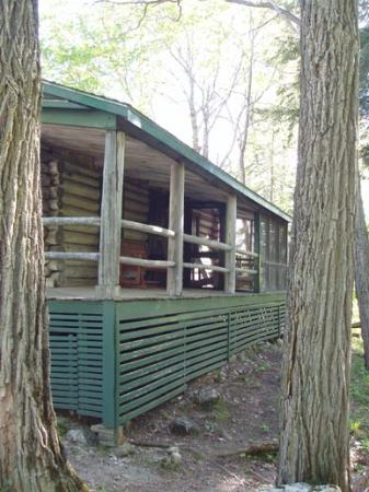 Weatherby's: All the cabins have screened porches