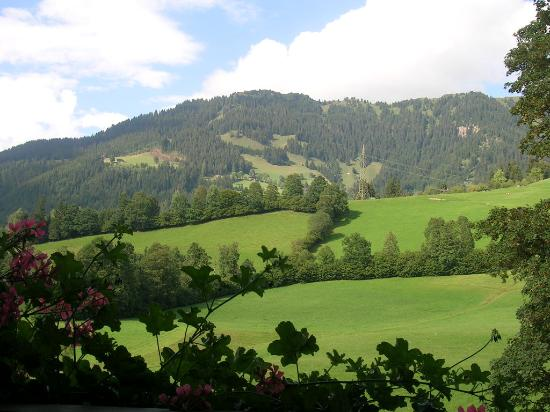 Kitz Garni Boutique Hotel: View from balcony
