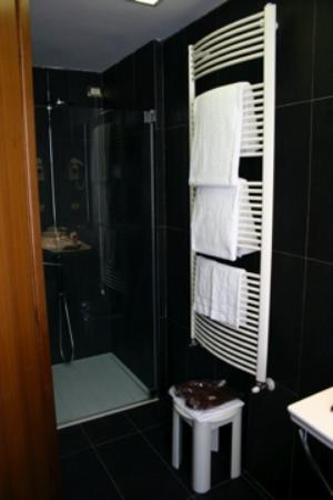 Hotel Concordia Towel Warmer And Shower