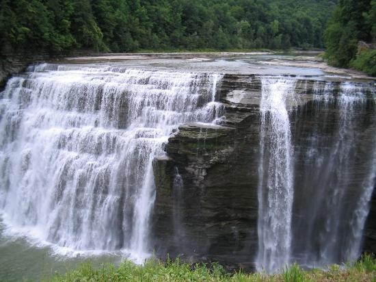 Letchworth State Park: Middle Falls