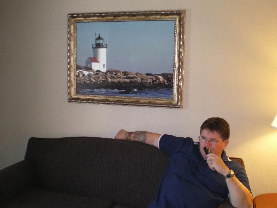 Hampton Inn & Suites Wells-Ogunquit : Sitting area